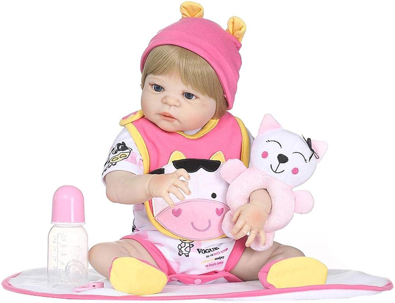 ventas en linea 46cm 46cm 46cm muñeca Reborn Simulation bebé muñeca réaliste juguetes Aimable muñeca Reborn (silicona completo accompagnant para Niños educación précoce regalo de cumpleaños  ordenar ahora