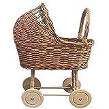 Andadores de Bebé Empuje Andador Equilibrio Rattan Vintage