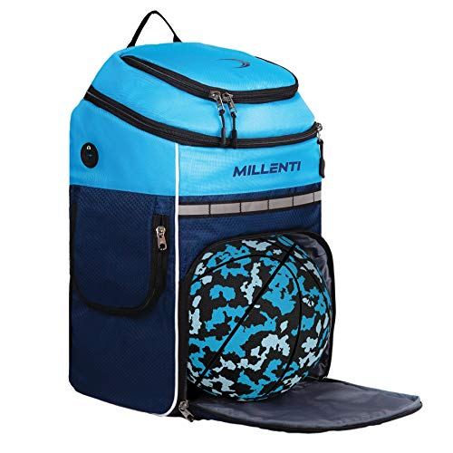 Millenti Backpack Equipment Soccer Bags - Football, Volleyball Basketball Bag