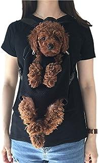 Wiiguda@Mascotas Mochila Frontal, Bolso para Perros y Gatos, Manos Libres, Salen