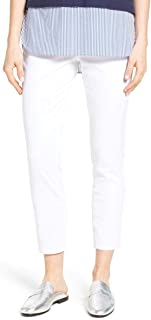 Jag Jeans Womens Jeans White US Size 6 Stretch Twill Pull-On Slim Ankle