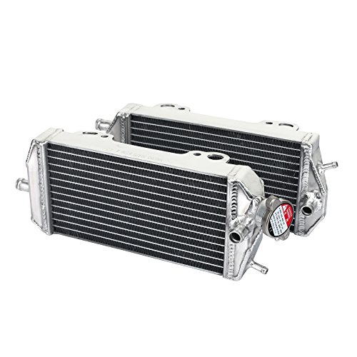 TARAZON Moto Enfriamiento del Radiador Enfriador aluminio para GAS GAS EC MC 200 250 300 2007-2011 GASGAS