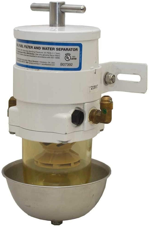 Parker Racor 500MA30 Marine Fuel Filter, 1 Pack