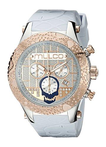 MULCO MW5-2331-413 Couture Reloj de Cuarzo Suizo con Pantalla analógica, Color Azul