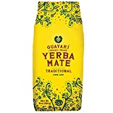 Guayaki Yerba Mate | Organic Alternative to Herbal Tea, Coffee and Energy Drink | Traditional Loose Leaf | 40 mg of Caffeine per Serving | 16 Oz