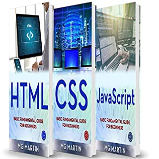 Programming for Beginners: 3 Books in 1 - HTML+CSS+JavaScript cover art