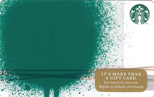 スターバックス カード 2014 ホリデー99 No.51 『緑の斑点』 スタバ ギフト 限定 デザイン