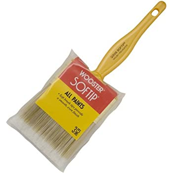 Wooster Brush Q3108-3 Softip Paintbrush, 3-Inch, White