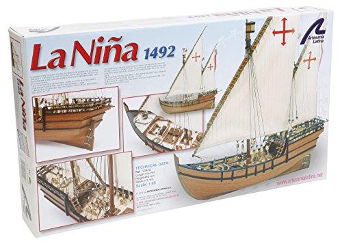 Artesanía Latina 22410. Maqueta de barco en madera Carabela