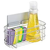mDesign AFFIXX Estantes de cocina para lavavajillas, estropajos, etc. –...
