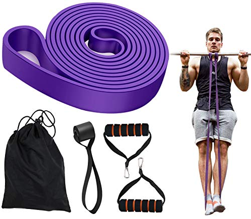 Gummiband Fitness, Trainingsband Sportband Krafttraining Zuhause