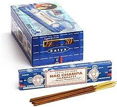 Satya Nag Champa Incense Sticks - 180 Grams - Premium Indian Incense