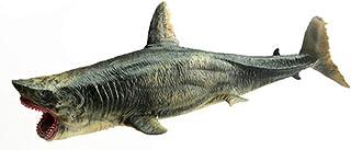 LULUD Plastic high Imitation Children's Shark Toy, Realistic Marine Animal Model Toy (Size: 25x10cm)