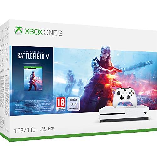 Xbox One S 1TB Battlefield V console [Importación inglesa]