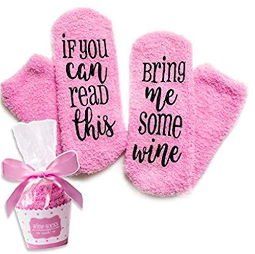 Comius Calcetines para Mujer, Calcetines de Vino