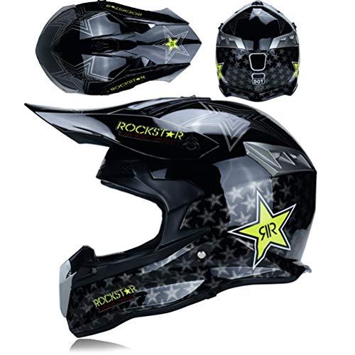 M/änner Full Face Motorradhelm Off Road Flip Up Motorradhelme Motocross Racing Moto Sicherheitskappen