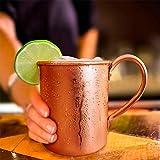 Ocamo ミュールサイエンス モスコミュール 銅マグカップ 滑らかな銅モスコミュールマグ カクテル/コーヒー/ビール/ミルクウォーター用