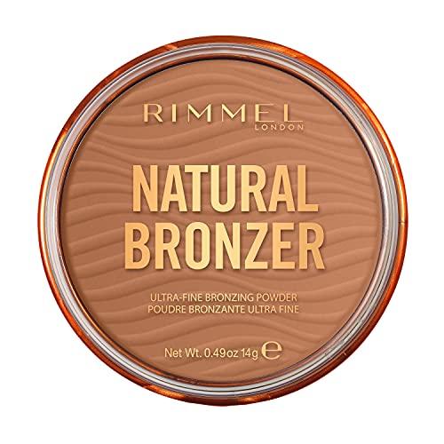 Rimmel London Natural Bronzer, Bronceador, Tono 2 Sunbronze - 14 g