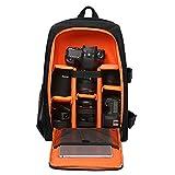 Zaino Multifunzianle per Fotocamera DSLR Accessori Backpack Porta Laptop Fino a 15,6 Pollici Stile Business e Casual