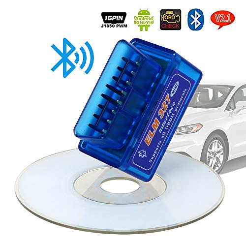Modern Home AT Bluetooth Mini ELM 327 ELM327 OBD 2 II Auto KFZ Diagnose Diagnosetool Fehlermeldung Scanner Interface Diesel Benzin Auto PKW KFZ Diagnosewerkzeug Check