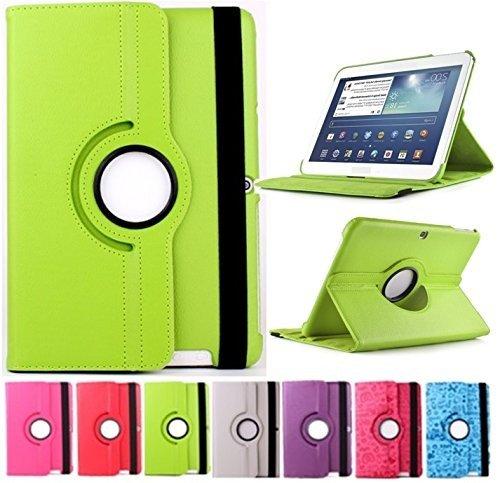 Funda para Tablet Bq Edison 3 10.1' Quad Core. Giratoria 360º (Verde)