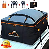 RoofPax Car Roof Bag & Rooftop Cargo Carrier. 19 Cubic Feet. 100% Waterproof...