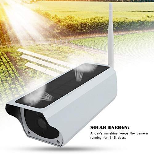 Cámara Solar para Exteriores Sin Necesidad de Cables Cámara IP de Seguridad Solar Cámara para Exteriores Vigilancia inalámbrica para Seguridad en la Oficina