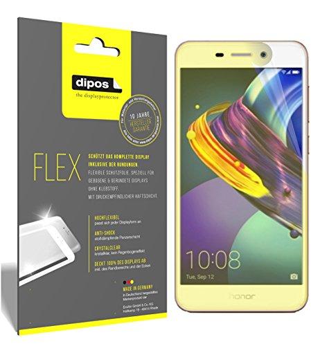 dipos I 3X Schutzfolie 100prozent kompatibel mit Huawei Honor 6C Pro Folie (Vollständige Bildschirmabdeckung) Bildschirmschutzfolie