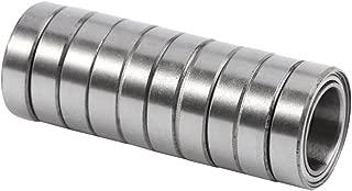 10pcs 6700ZZ Rodamiento de Bolas de Sección Fina de Doble Blindaje de Acero en Miniatura 10 mm x 15 mm x 4 mm
