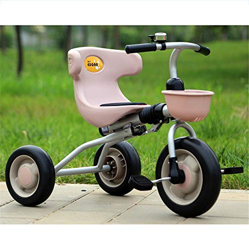 Learn More About Kids Balance Bike No Pedal Bicycle 3 Wheel Pedal Bike Tricycle Children's Stroller Multicolor Indoor & Outdoor With Storage Box Multicolor For 2 3 4 5 6 Years Old Boys And Girls For Toddlers Girl And