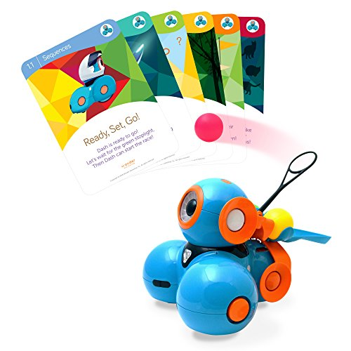 Wonder Workshop - Dash Robot Coding for Kids 6+ - Dash Challenge Cards & Catapult Launcher - (Amazon...