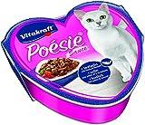 Vitakraft Poésie Katzenfutter, Nassfutter, Seelachs in Pasta und Tomate Sauce, 15 x 85g