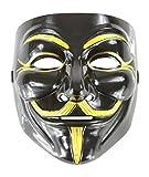 Plastic Party Halloween Masks Jabbawockeez Guy Fawkes Carnival Mardi Gras Ghost Trot Rave Hip-Hop Mask Black