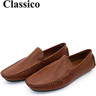 CLASSICO Brown Loafer Casual Slip On Shoes for Mens