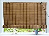 Asian Home Bamboo Roll Up Window Blind Sun Shade W30 x H72