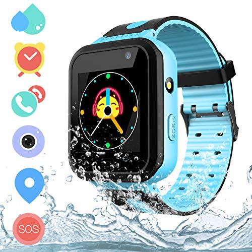 Kids Smart Watch Waterproof with AGPS LBS Tracker - Boys Girls Gift Smart...