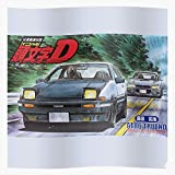 US209PT Ae86 D Initiald Initial Street Racing Cars Car, Gift for Home Decor Wall Art Print Poster