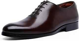 [YIMANIE] ビジネスシューズ メンズ 紳士靴 本革 革靴 内羽根 プレーントゥ 高級靴 レースアップ 大きいサイズ