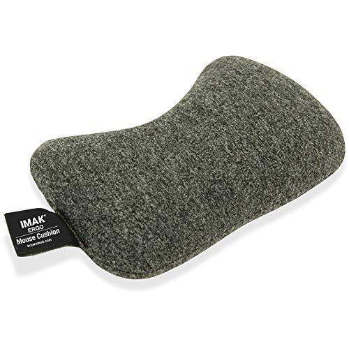 Imak Products IMAK 10166 Wrist Cushion f Mouse Gray, Pack of 1