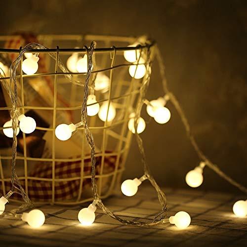 Luces de copo de nieve LED guirnalda luces de Navidad habitación de Año Nuevo Día de San Valentín luces de cadena de cuento de hadas usb 3m30 leds