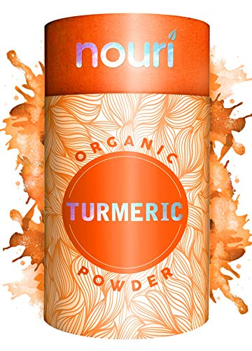 Organic Turmeric Powder | 1 KG | Nouri | Joint Support & Anti-Inflammatory | Brain Boosting | Non-GMO