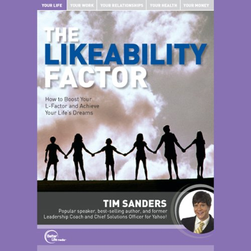 The Likeability Factor (Live) audiobook cover art