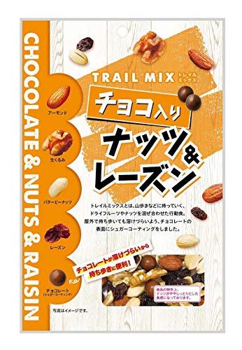 共立食品 チョコ入り ナッツ&レーズン(トレイルミックス) 徳用 150g ×10袋