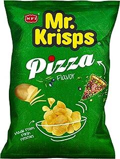 Mr Krisps Potato Chips Pizza Flavour, 80 gm