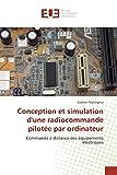 Conception et simulation d'une radiocommande pilotée par ordinateur