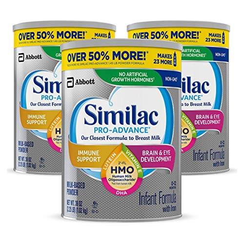 Similac Pro-Advance Non-GMO Infant Formula...