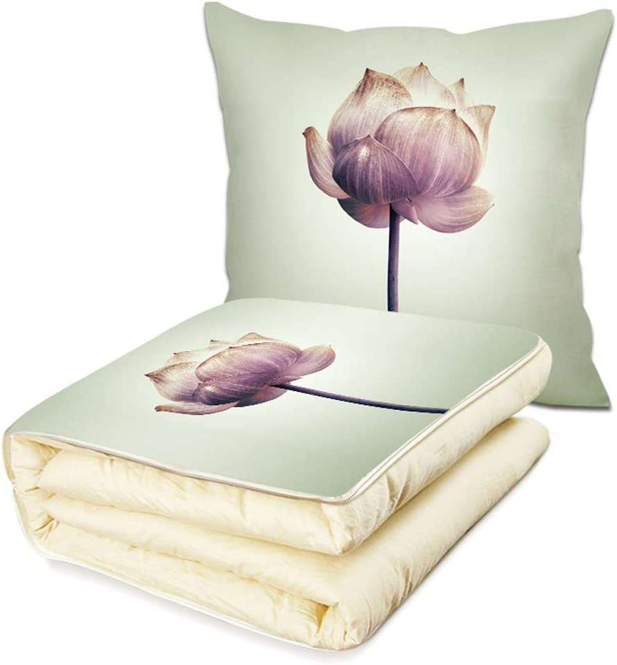 TONG Quantity limited Max 66% OFF Cushion Pillow Quilt Multifunctiona Office Dual-use