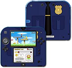 MightySkins Skin Compatible with Nintendo 2DS - Policeman | Protective, Durable, and Unique Vinyl Decal wrap Cover | Easy to Apply, Remove, and Change Styles | Made in The USA