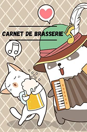 Carnet de Brasserie: à compléter pour 50 bières, 15,24 x 22,86 cm | Ce carnet est parfait pour les professionnels et les amateurs de bière, ... permettre de noter un maximum d'informations