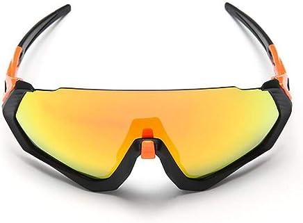 JAORUNNING Riding Polarized Glasses Mountain Bike Full Coated Sports Windshield Unisex
